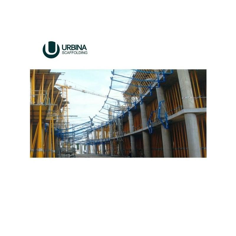 Red de seguridad de protección en construcción en Monterrey y México