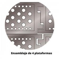 Plataforma fija para andamio